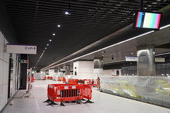 Canary Wharf Station_325411 (Crossrail Project Press Images) Tags: crossrail woolwich whitechapel tottenham court road route control centre romford paddington maintenance management plumstead liverpool street farringdon canary wharf bond station testing comissioning
