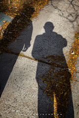 Bewar of Those That Lurk in Shadows 2019 (John Hoadley) Tags: shady portdalhousi ontario 2019 october canon eosr 24105 f71 iso100 cathy john shadows