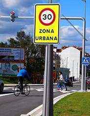 Pontevedra portes de la ville à 30 km-h 9