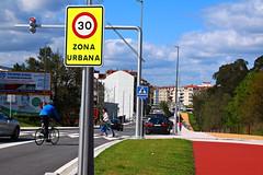 Pontevedra portes de la ville à 30 km-h 8