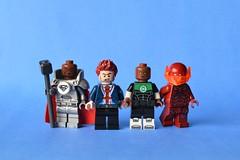 RGBS (th_squirrel) Tags: lego dc comics steel superman manchester black john stewart green lantern batman red death minifig minifigure minifigs minifigures