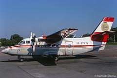 UR-67519 / ? 29.05.1997 (propfreak) Tags: propfreak propfreakcollection slidescan ur67519 let l410uvp turbolet airukraine let419