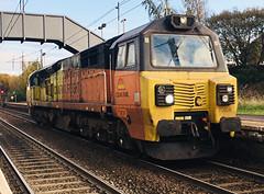 Colas Rail Class 70 (70806) - Holytown (saulokanerailwayphotography) Tags: class70 70806 colasrailfreight