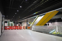 Canary Wharf Station_325421 (Crossrail Project Press Images) Tags: crossrail woolwich whitechapel tottenham court road route control centre romford paddington maintenance management plumstead liverpool street farringdon canary wharf bond station testing comissioning