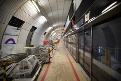 Bond Street Station_328582 (Crossrail Project Press Images) Tags: crossrail woolwich whitechapel tottenham court road route control centre romford paddington maintenance management plumstead liverpool street farringdon canary wharf bond station testing comissioning