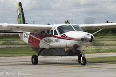 8R-GTG Cessna 208B Grand Caravan Trans Guyana Airways Georgetown-Ogle Airport SYGO 23.10-19 (rjonsen) Tags: plane airplane aircraft aviation airliner taxying airside