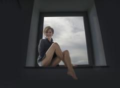 Manu #2 (celestino2011) Tags: finestra nuvole manuela