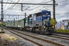 D-2346 | Estación Concepción (Felipe Radrigán) Tags: tren ferrocarril railroad railway train locomotora locomotive concepcion chile talcahuano celulosa 2346 sdl39 fepasa estacion emd sanvicente