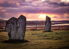 Callanish Standing Stones (Carol Marshy Photography) Tags: stones sacred sunrise colours beauty old