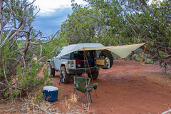 Home For The Night (W9JIM) Tags: w9jim w9jeep camp camping keltycartarp kanab jeep wrangler 5d4 24105l canoneos5dmarkiv ef24105mmf4lisusm