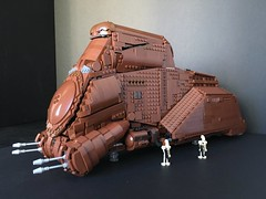 MTT - Multi Troop Transport (2) (Just Bricking) Tags: star wars starwars starwarsepisode1 ships space starwarslego lego legostarwars moc mtt multitrooptransport naboo thephantommenace
