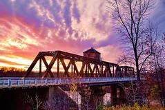 Sunrise Over The Swing Bridge, take II (WTW Pics) Tags: thunderbay ontario canada swingbridge sunrise beautiful beauty lakesuperior greatlakes canon5dmkii