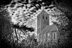 From The Corn (Alfred Grupstra) Tags: church blackandwhite old religion christianity history architecture oldfashioned spirituality nature chapel outdoors ruralscene builtstructure nopeople buildingexterior cultures obsolete landscape retrostyled 854