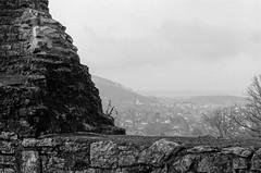 Depuis le château de Ferrette (DavidB1977) Tags: france alsace ferrette château monochrome bw nb argentique film canon a1