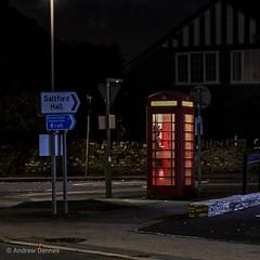 Time And Relative Dimension In Space (velodenz) Tags: velodenz fujifimxt30 tardis phone box telephone kiosk 1000views 1000 views saltford banes bnes unitedkingdom uk greatbritain gb timetravel