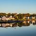 Sunrise in Mystic, Connecticut