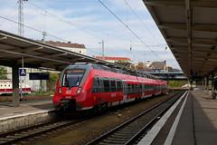 P1960143 (Lumixfan68) Tags: eisenbahn züge triebwagen baureihe 442 et bombardier talent 2 deutsche bahn db regio