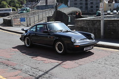 Porsche 911 SC A317VYH (Andrew 2.8i) Tags: run county pembrokeshire classic classics car cars auto autos voiture voitures show meet sports sportscar coupe rearengined aircooled carrera sc 911 porsche a317vyh german