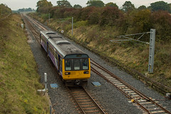 142039 (Shed seven) Tags: 142039 northern 2d27 dmu pacer heighington