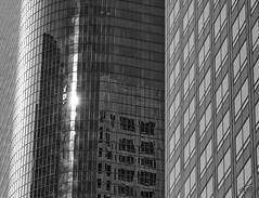USA - Los Angeles - Building Reflections (Philippe Larosa) Tags: usa us losangeles building windows reflections sun immeuble reflets fenetres city ville downtown