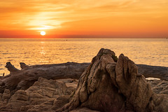 rock (nicolas-7878) Tags: nikon nikond5500 nature nikonpassion sun sunset summer soleil rock paysage panorama cloud sky ciel orange