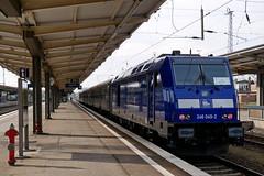 P19601101 (Lumixfan68) Tags: eisenbahn züge loks baureihe 246 dieselloks press pressnitztalbahn bombardier traxx ersatzverkehr sonderzüge