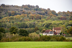 hint of autumn (brian@bletchingley) Tags: landscape hills hints autumn colour houses henry 8th cleves wife anne