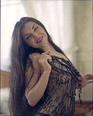 0785 (Epstudio_) Tags: mamiyarz67proii mamiyarz67 rz67 6x7 sekor11028 kodak portra400 epsonv700 scan analoge film woman buduar window light lingeria portrait