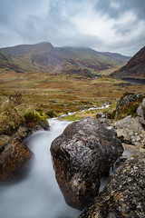 Falls to Ogwen (chrisellis211) Tags: tryfan valley wales snowdonia landscape landscapephotography northwales hiking adventures travel mountains ogwen llyn lake canon 80d wideangle polariser
