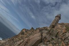lighthouse (Francesco Morselli) Tags: portogallo roccia cielo nuvole mare faro
