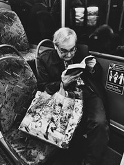 The Voracious Reader (Rob Pearson-Wright) Tags: publictransport streetphotography journey book reading read man bus mobilephotography shotoniphone iphone7plus iphone iphoneography candid street uk london
