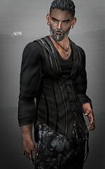 No840 (ashraf rathmullah) Tags: gild vintage vest with t wool 34lengthpants mom necklace bird skull top necklacesilver