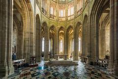 Monasterio del Mont Saint-Michel (LANTADA Fotografia) Tags: castillo hdr iglesia monasterio francia saintmichel