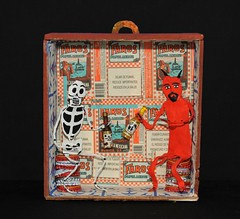 Devil and Skeleton Oaxaca Mexico (Teyacapan) Tags: folkart crafts artesanias mexican oaxacan diablo calaca