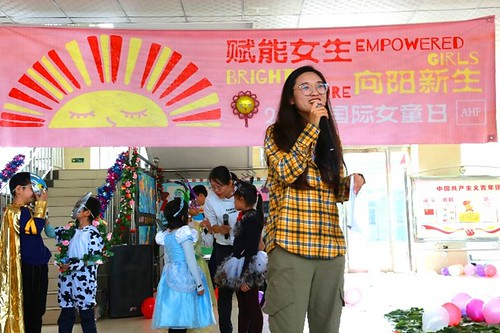 International Day of the Girl Child 2019: China