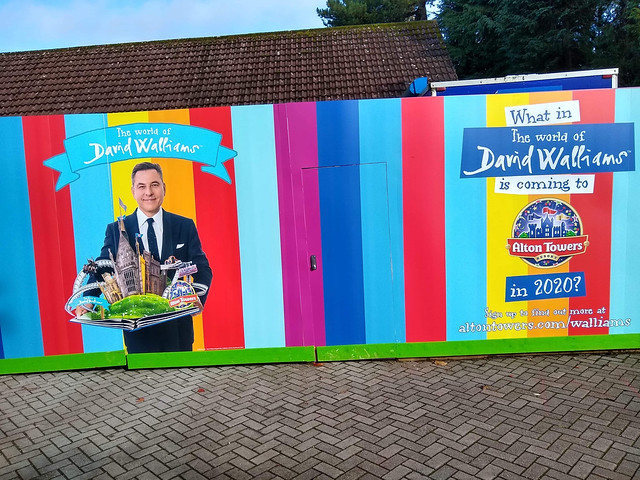 The World of David Walliams construction walls