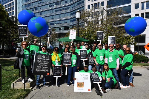 World Bank Protest - October 18th 2019