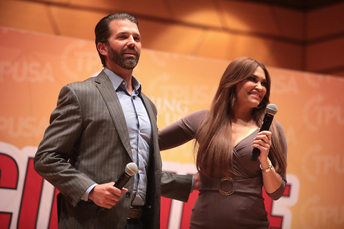 Donald Trump, Jr. & Kimberly Guilfoyle by Gage Skidmore, on Flickr