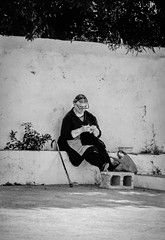 Crochet (gwpics) Tags: crete greek greekislands people mono greece europe streetscene streetphotography analog analogue archive editorial everydaylife film lifestyle monochrome person society blackandwhite street streetlife