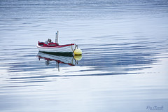 Tranquility (Ray Chiarello) Tags: djúpivogur iceland boat water tranquility canon5dmarkiii canonef70200mmf28lisiiusm reflection travel svali