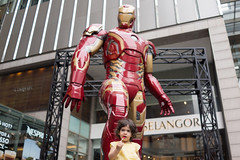 """ Mummy does Iron-Man like Lollipop? "" (* Hazman Zie *) Tags: sony rx1 sonyrx1 mirrorless street cybershot zeisssonnar35mm zeiss sonnar 35mm ironman"