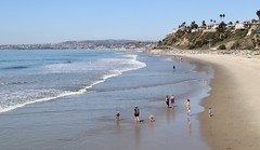 October View from the Pier (Bennilover) Tags: sanclemente heatwave beach beaches october california surf ocean wading