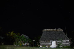traditional house at night (afix) Tags: night house melanesia star sky traditional tribu