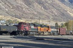 FXE and Two Other SD70s (Utah3002) Tags: fxe fxe4047 bnsf ferromex bnsf8752 bnsf9832