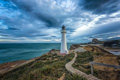 Out Of The Blue (Anna Kwa) Tags: castlepointlighthouse path castlepoint wellingtonregion northisland newzealand annakwa nikon d750 140240mmf28 my reason why blue always seeing heart soul throughmylens life journey fate destiny thereasonwhy jpcooper travel world southpacificocean