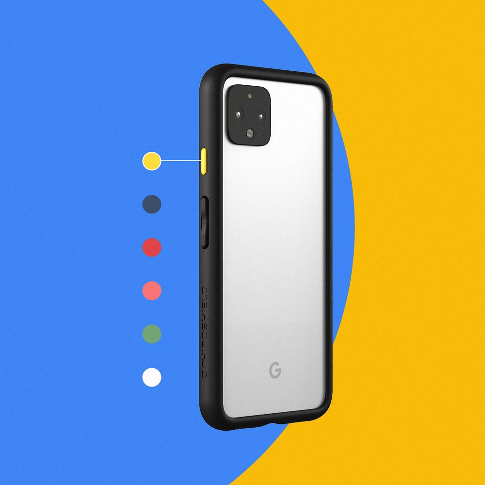 新聞圖片4-Pixel 4、4 XL保護殼皆可自由更換按鍵顏色,還可直接購買按鈕包替換(共6色)