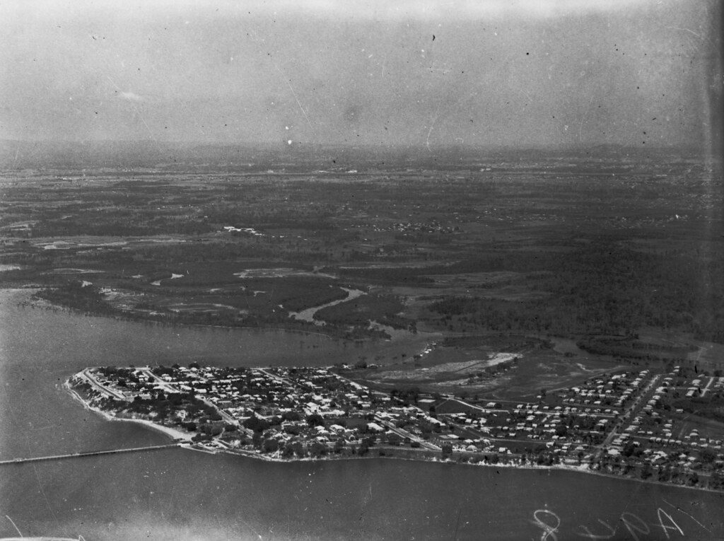 Aerial view of Sandgate ca 1934