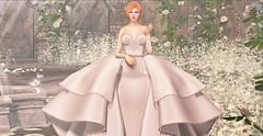 ♚ #796 ♚ (Caity Saint) Tags: lana dress gown trunkshow event limerence redhead ak akeruka maitreya sl secondlife pixels avatar doll av