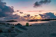 I need some beach time (langdon10) Tags: karmøy northsea norway sunset water beach clouds ocean rock sea shoreline åkrasanden