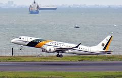 Força Aérea Brasileira, FAB2590/VC-2 2590, Embraer ERJ-190AR at HND (tokyo70) Tags: travel japan tokyo tour forçaaéreabrasileira erj190ar